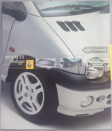Renault Twingo Accessoires Equipements May 01. 31 S34 B1 FRA